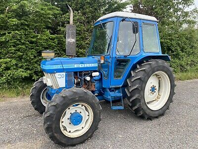 £11250 • Buy Ford 7610 Tractor 4wd Classic Tractor For Farm 6500HRS VGC PLUS VAT