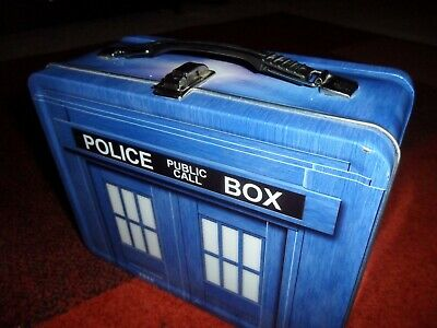 £9.31 • Buy Doctor Who Tardis Lunchbox Licensed By BBC - World Of Mirth