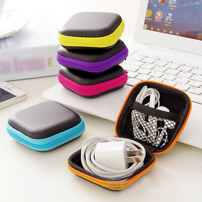 £2.74 • Buy EVA Storage Bag Carrying Holder Case For Earphone Earbuds Key Coin Card IPod