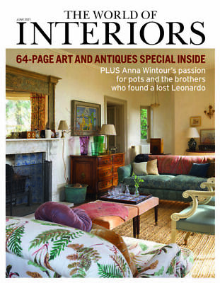 £8.89 • Buy World Of Interiors Magazine - JUNE 2021 - Arts & Antiques Special Edition