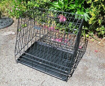 £32 • Buy Ellie-Bo Dog Puppy Crate / Cage Small 24 . Sloping Front. Car Or Home. WIRRAL