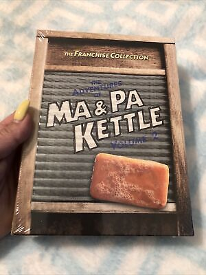 $8.99 • Buy NEW• The Adventures Of Ma And Pa Kettle - Volume 2 (DVD, 2011, 2-Disc Set)