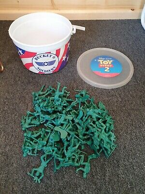 £9.99 • Buy Disney Pixar Toy Story Collection - Bucket O Soldiers - 75 Soldiers Used