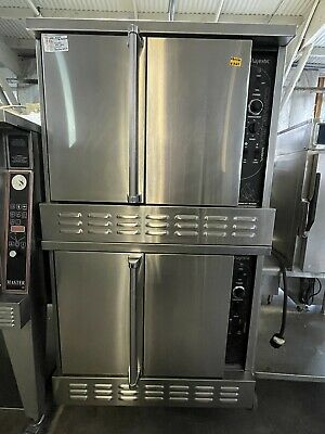 $3200 • Buy American Range Majestic, Double Stack Convection Oven - Nat. Gas