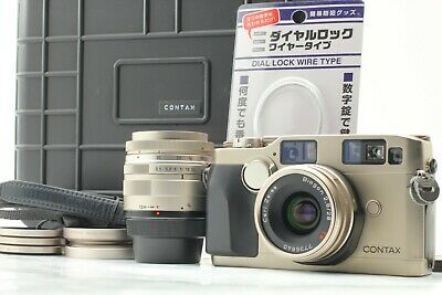 $ CDN2490.09 • Buy [ NEAR MINT+ Protect Case ] Contax G2 + 35-70mm + 28mm F2.8 2Lens From Japan