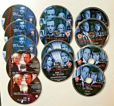 £12.95 • Buy WIRE IN THE BLOOD DVDs Without Cases. 13 Disks ,  All 6 Series