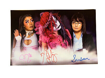£39.99 • Buy AUTOGRAPHED Su Yung Suzie Susan 11 X 17 POSTER Signed Wrestling TNA Shimmer Aew