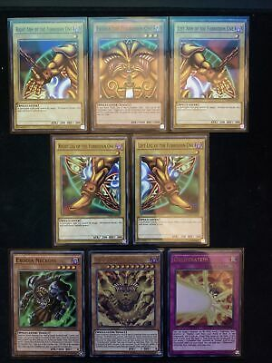 £12.50 • Buy Exodia The Forbidden One Set LDK2 All 5 Pieces + Necross, Incarnate, Obliterate!
