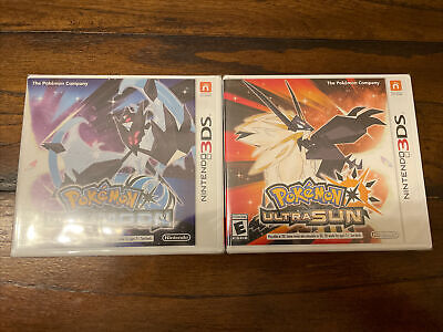 AU133.61 • Buy Pokemon Ultra Sun And Ultra Moon! 3DS BRAND NEW SEALED! Fast Shipping!!