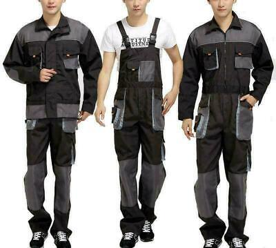 $47.55 • Buy Coveralls Mechanic Overalls Jumpsuit Outfit Pants Mens Work Suspender Protect