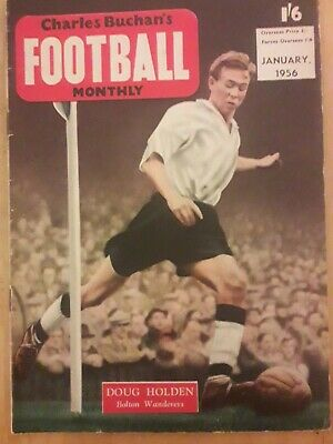£2.49 • Buy Charles Buchan's Football Monthly January 1954 In Good Condition