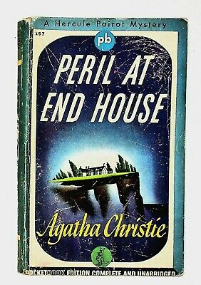 £8.66 • Buy Peril At End House By Agatha Christie 1944 Vintage Paperback Pocket Book