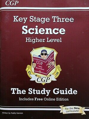 £1 • Buy KS3 Science Higher Level Study Guide By CGP