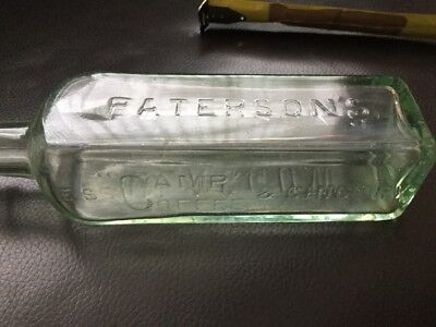 £5.50 • Buy Antique Pattersons Camp Coffee ESS Glasgow Bottle