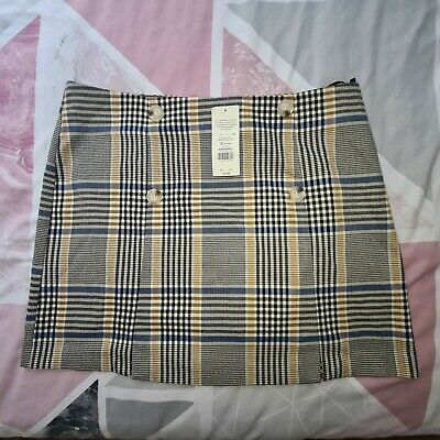 £1.50 • Buy Womens Selfridges Mini Skirt Brand New With Tags Checkered UK Size 16 RRP £35