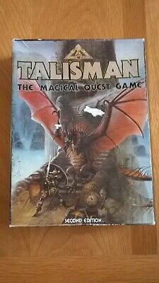 £47 • Buy TALISMAN Board Quest Game 2nd Edition + Extras Games Workshop