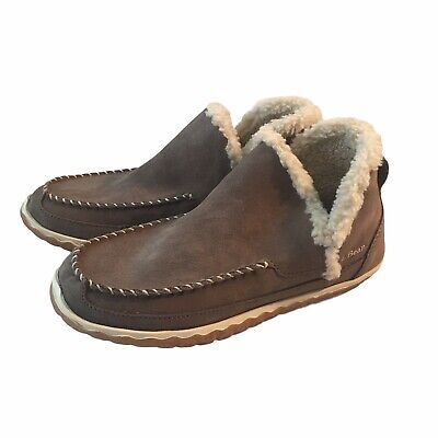 £32.59 • Buy LL BEAN Women's Brown Suede Mountain Moccasin Slipper Boots Size 9 M