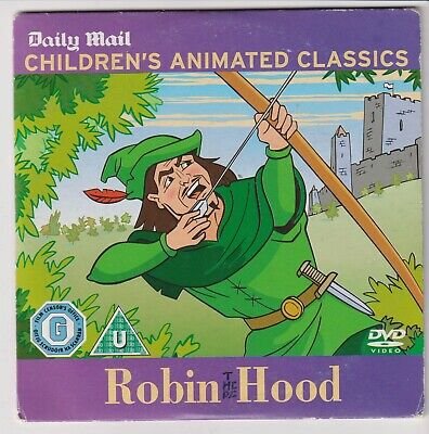 £0.50 • Buy Childrens Animated Classics - Robin Hood Daily Mail Promo DVD