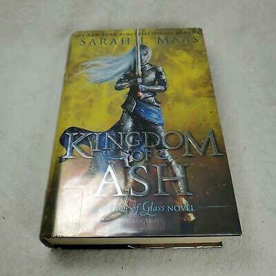 $11.95 • Buy Kingdom Of Ash (Throne Of Glass) By Sarah J. Maas (2018, Hardcover) Ex Library