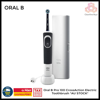 AU39 • Buy Oral B Pro 100 CrossAction Electric Toothbrush *AU STOCK*