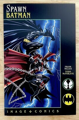 £89.30 • Buy Spawn Batman Image Comics Todd McFarlane Signed By Frank Miller With COA