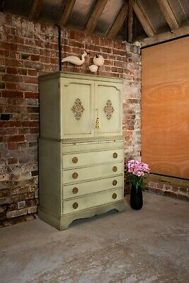 £600 • Buy Antique Cupboard With Drawers/Linen Press