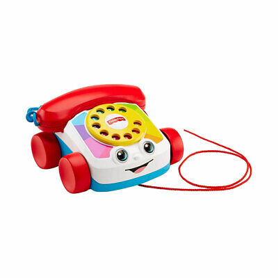 £11.89 • Buy Fisher-Price Chatter Telephone Toddler Pull Along Toy With Sounds - FGW66