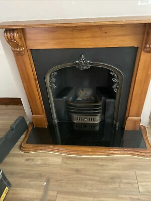 £200 • Buy Complete Fireplace - Gas Fire, Hearth, Back Panel And Surround