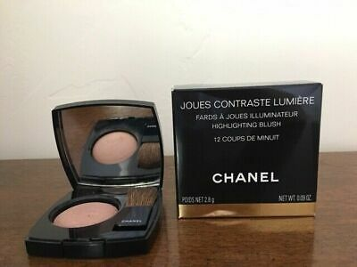 £28.31 • Buy Chanel Joues Contraste Lumiere Highlighting Blush In 12 Coups De Minuit PreOwned
