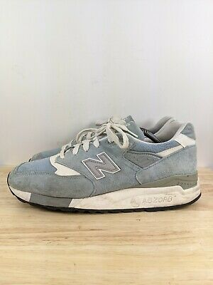 $119.99 • Buy New Balance M998Ll 998 National Parks Pool Blue Unc White Grey Silver Sz 9.5 D