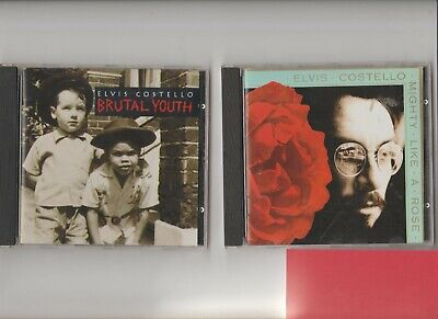 £3.89 • Buy Elvis Costello : Mighty Like The Rose + Brutal Youth   /Two CD Albums