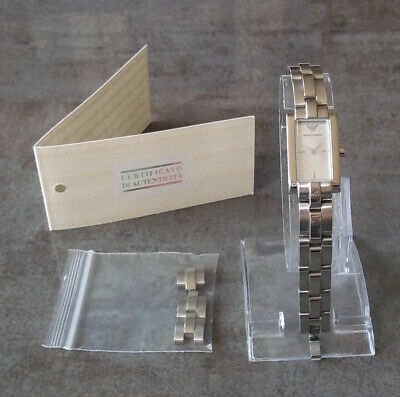 £39.99 • Buy Emporio Armani Womens Ladies Watch AR5433 New Battery, Certificate+ Extra Links