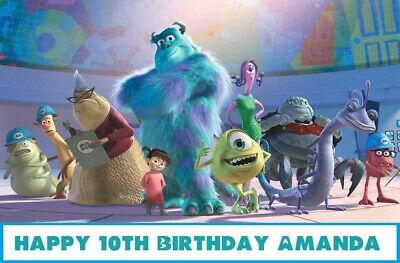 £9.35 • Buy Monsters Inc Edible Cake Topper Decoration