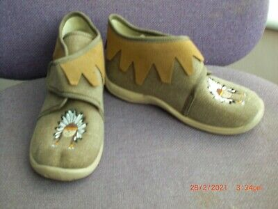 £8 • Buy Fabric Kids Boots By Superfit With Indian Motif. Size EU26/UK8.5