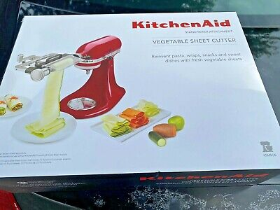 £61.24 • Buy KitchenAid Vegetable Sheet Cutter Attachment For Kitchen Aid Stand Mixer New