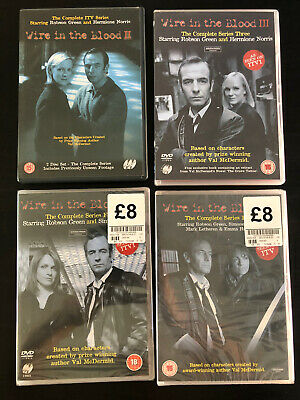 £7.99 • Buy Bundle Job Lot DVDs - Wire In The Blood Series 2,3,4 And 5.