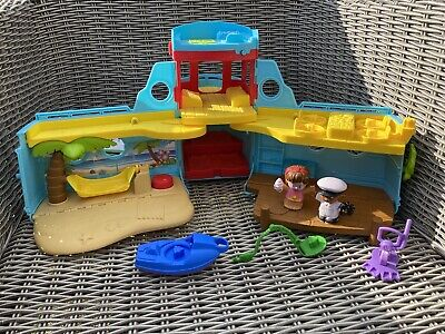 £4.99 • Buy Fisher-Price FXJ44 Little People Travel Together Friend Ship Toy