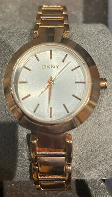 £35 • Buy DKNY NY8833 Women's  Watch-Bracelet Gold Plated Stainless Steel Pink