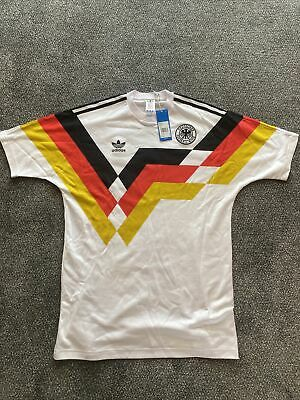 £25 • Buy Adidas Originals Germany 1990 Home Shirt BNWT Size M - Fits Oversized