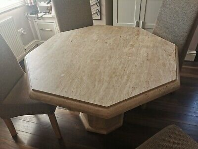 £450 • Buy Marble Dining Table And 4 Chairs