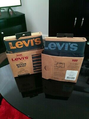 £12.95 • Buy Levi's Mens 2 Pack Cotton Stretch Boxer Shorts Mens New Size Small