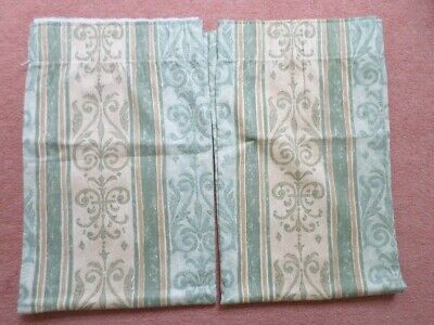 £6.99 • Buy Montgomery Green/Beige Curtains 49  X 41  (approx) BNWOT