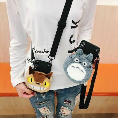 £13.49 • Buy Sam S9 Plus Cartoon Pouch Case , Totoro Minnie Mickey Wallet Shell For Samsung G
