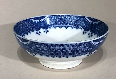 £24 • Buy Pearlware Welsh Cambrian Pottery Bowl C1800 Swansea