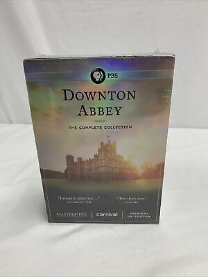 £21.72 • Buy Downtown Abbey The Complete Series Collection On DVD 1-6