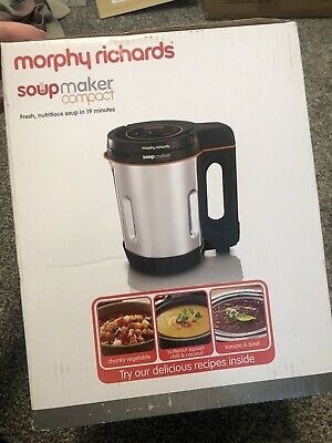 £20 • Buy Morphy Richards 501027 900 W 1 L Compact Stainless Steel Saute And Soup Maker -