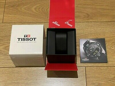 £17.99 • Buy Genuine Original Tissot Swiss Watch Box Magnetic Complete With Booklet