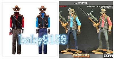 $49.90 • Buy NEW! Team Fortress2 Sniper Cosplay Costume MM.920
