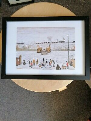 £6.99 • Buy Ls Lowry  The Ferry  Framed Print
