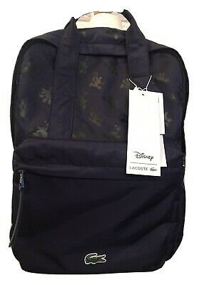 £99.99 • Buy Lacoste Disney Backpack Collaboration Mickey Mouse Bag Rucksack BNWT RRP £160